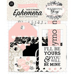 Echo Park - Wedding Bliss Collection - Ephemera - Frames and Tags
