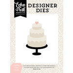 Echo Park - Wedding Bliss Collection - Designer Dies - Wedding Cake