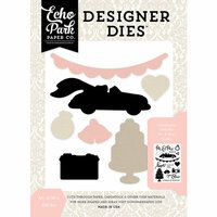 Echo Park - Wedding Bliss Collection - Designer Dies - Mr and Mrs