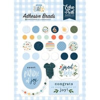 Echo Park - Welcome Baby Boy - Self Adhesive Decorative Brads