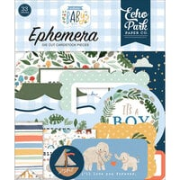 Echo Park - Welcome Baby Boy - Ephemera