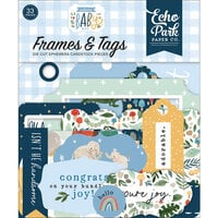 Echo Park - Welcome Baby Boy - Ephemera - Frames and Tags