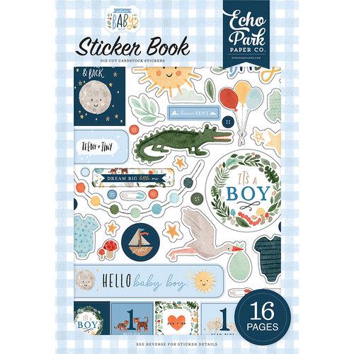 Echo Park - Welcome Baby Boy - Sticker Book