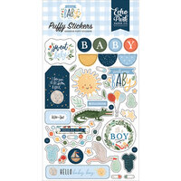 Echo Park - Welcome Baby Boy - Puffy Stickers