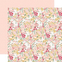 Echo Park - Welcome Baby Girl Collection - 12 x 12 Double Sided Paper - Dreamer Floral
