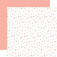 Echo Park - Welcome Baby Girl Collection - 12 x 12 Double Sided Paper - Sweet Baby Girl