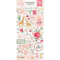 Echo Park - Welcome Baby Girl Collection - Chipboard Stickers - Accents