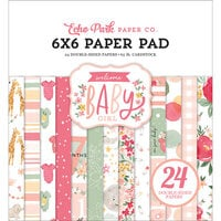 Echo Park - Welcome Baby Girl Collection - 6 x 6 Paper Pad