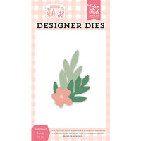 Echo Park - Welcome Baby Girl Collection - Dies - Sweetheart Floral