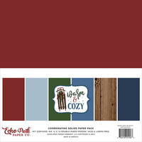 Echo Park - Warm and Cozy Collection - 12 x 12 Paper Pack - Solids