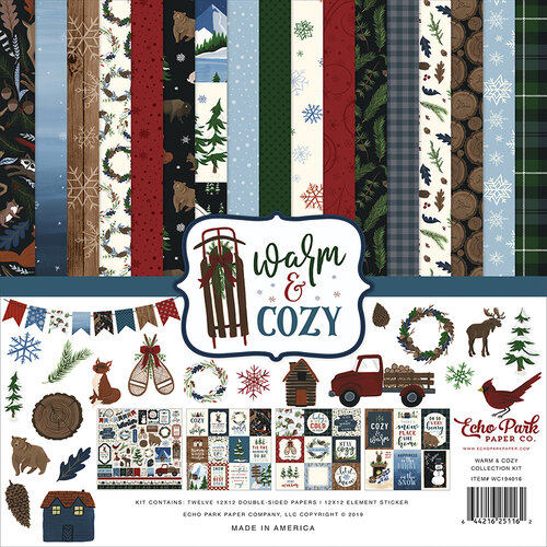 Echo Park - Warm and Cozy Collection - 12 x 12 Collection Kit