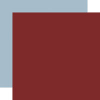 Echo Park - Warm and Cozy Collection - 12 x 12 Double Sided Paper - Red