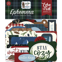 Echo Park - Warm and Cozy Collection - Ephemera