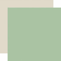 Echo Park - Wedding Day Collection - 12 x 12 Double Sided Paper - Green