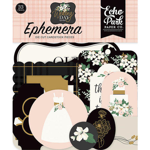 Echo Park - Wedding Day Collection - Ephemera