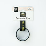 Echo Park - Wedding Day Collection - Decorative Tape - Mr and Mrs with Gold Foil Accents