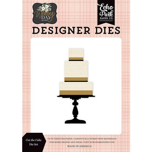 Echo Park - Wedding Day Collection - Designer Dies - Cut The Cake