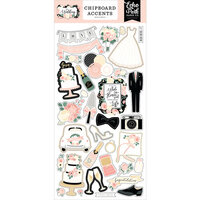 Echo Park - Wedding Collection - Chipboard Accents