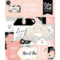 Echo Park - Wedding Collection - Frames and Tags