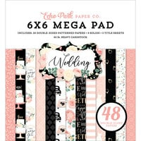 Echo Park - Wedding Collection - 6 x 6 Mega Pad
