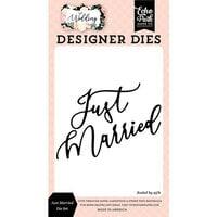 Echo Park - Wedding Collection - Designer Dies - Just Married
