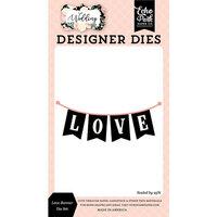 Echo Park - Wedding Collection - Designer Dies - Love Banner