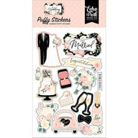 Echo Park - Wedding Collection - Puffy Stickers