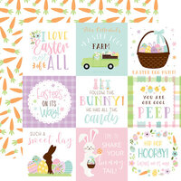 Echo Park - Welcome Easter Collection - 12 x 12 Double Sided Paper - 4 x 4 Journaling Cards