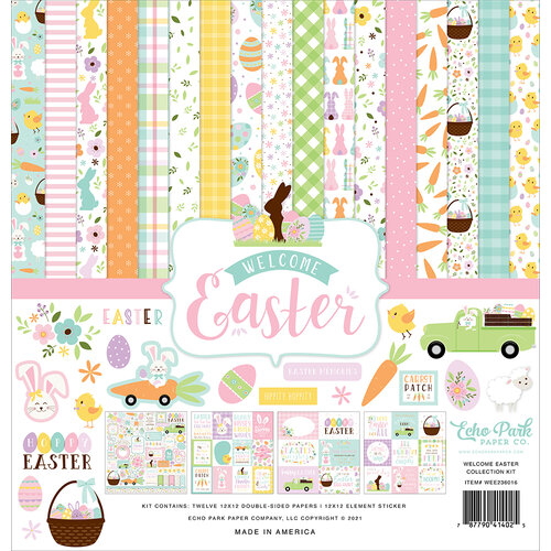 Echo Park - Welcome Easter Collection - 12 x 12 Collection Kit