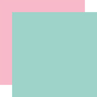Echo Park - Welcome Easter Collection - 12 x 12 Double Sided Paper - Teal