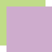 Echo Park - Welcome Easter Collection - 12 x 12 Double Sided Paper - Purple