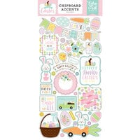 Echo Park - Welcome Easter Collection - Chipboard Stickers - Elements
