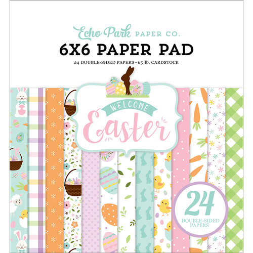 Echo Park - Welcome Easter Collection - 6 x 6 Paper Pad