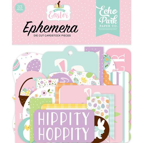 Echo Park - Welcome Easter Collection - Ephemera