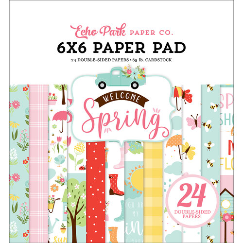 Echo Park - Welcome Spring Collection - 6 x 6 Paper Pad