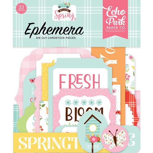 Echo Park - Welcome Spring Collection - Ephemera