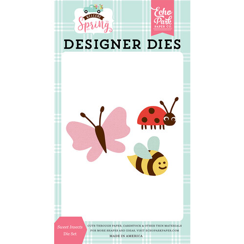 Echo Park - Welcome Spring Collection - Dies - Sweet Insects