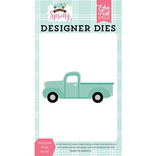 Echo Park - Welcome Spring Collection - Dies - Springtime Truck