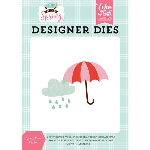 Echo Park - Welcome Spring Collection - Designer Dies - Spring Rain