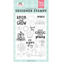 Echo Park - Welcome Spring Collection - Clear Photopolymer Stamps - Sweet Day