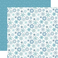 Echo Park - Winter Magic Collection - 12 x 12 Double Sided Paper - Magic Snowflake