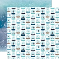 Echo Park - Winter Magic Collection - 12 x 12 Double Sided Paper - Let It Snow