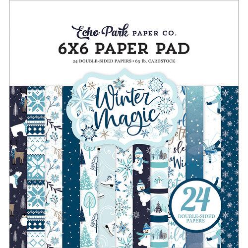 Echo Park - Winter Magic Collection - 6 x 6 Paper Pad