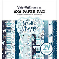 Echo Park - Winter Magic Collection - 6 x 6 Paper Pad