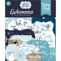 Echo Park - Winter Magic Collection - Ephemera