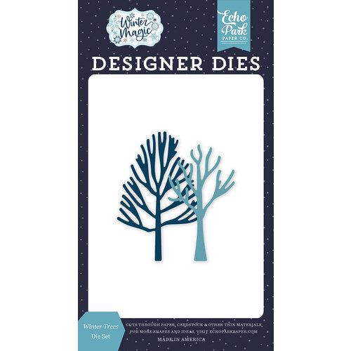 Echo Park - Winter Magic Collection - Designer Dies - Winter Trees