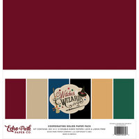 Echo Park - Witches and Wizards No. 2 Collection - 12 x 12 Paper Pack - Solids