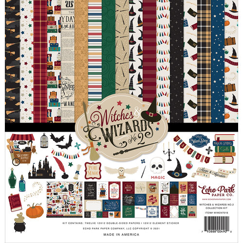 Echo Park - Witches and Wizards No. 2 Collection - 12 x 12 Collection Kit