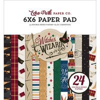 Echo Park - Witches and Wizards No. 2 Collection - 6 x 6 Paper Pad