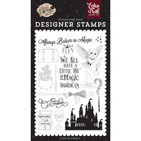 Echo Park - Witches and Wizards No. 2 Collection - Clear Photopolymer Stamps - Believe In Magic